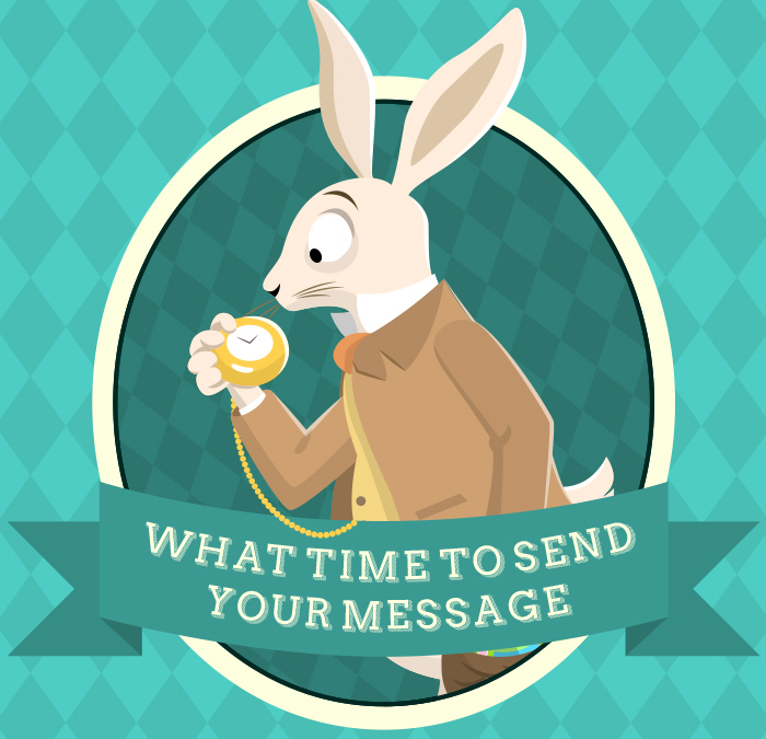 [Infographic] What's the Best Time to Send Your Message?